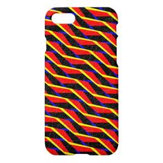 Colorful abstract pattern iPhone 7 case - tap to personalize and get yours Iphone Models, Abstract Pattern, Iphone Case Covers, Iphone 7, Colorful, Design