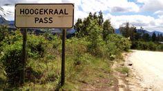 Start of the Hoogekraal Pass