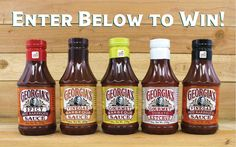 Enter for your chance to win a Georgia Sauce