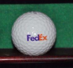 Fed Ex FedEx Corporation logo golf ball. Maxfli