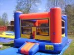 15' x 15' infatable boxing ring with giant gloves!! This is great for a teenage birthday party or even a family reunion! Best of all when the boxings done the little ones can bounce away in the 15' x 15' bounce!! Sets up in under ten minutes!! $175 a day.
