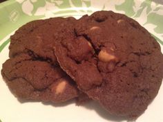 Chocolate Cocoa Cookies with Peanut Butter Chips