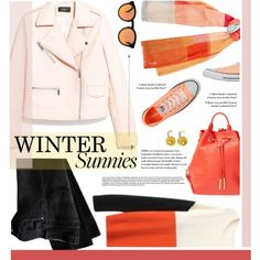 A fashion look from January 2015 featuring MANGO jackets, Converse sneakers and Opening Ceremony backpacks. Browse and shop related looks.