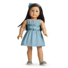 Double-Bow Dress for Dolls | clothingtm | American Girl