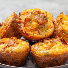 Potato and cheese muffins: This recipe is sooo cheesy! Potato and cheese muffins . - Potato and cheese muffins: This recipe is sooo cheesy! Potato and cheese muffins: This recipe is so - # Clean Eating Breakfast, Egg Recipes For Breakfast, Perfect Breakfast, Muffins Sains, Cheese Muffins, How To Eat Paleo, Sausage Recipes, Queso, Food Processor Recipes