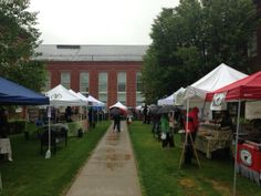 A rainy begining to the Watertown Farmers Market