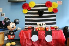 Mickey Mouse Birthday Party Ideas | Photo 9 of 22
