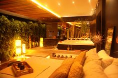 Casa Cor SC 2014 arq Waleska Burlacenko Studio Garopaba Sala de banho integrada ao quarto do casal