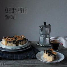 Kefires szelet mákkal | SweetHome Poppy Cake, Kefir, Coffee Maker, Kitchen Appliances, Sweets, Cooking, Recipes, Food, Coffee Maker Machine