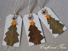 Diy: Make Nice Christmas Gift Tags Cute Christmas Ideas, Diy Christmas Cards, Best Christmas Gifts, Homemade Christmas, Kids Christmas, Holiday Crafts, Christmas Ornaments, Homemade Gift Tags, Green Gifts