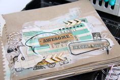 beedee-awesome Game Tickets, Handmade Books, Little Books, Scrapbook Albums, Altered Books, Fun Games, Mini Albums, Awesome, Crafts