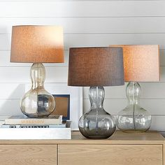 Organic shape. Interesting look. Good looking shade. Lots of things I like in a lamp. $149