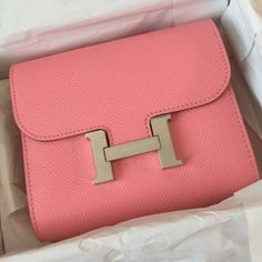 Brand new Hermes Constance short wallet/coin purse Brand new and RARE Constance wallet in 1Q Rose Confetti! R stamp. Please direct any questions to buy.fashionablez@gmail.com ☺️ Hermes Bags Wallets