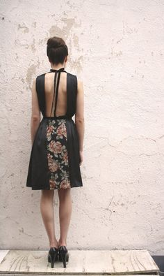 More backless dresses.