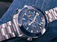 Omega Seamaster Planet Ocean Co-Axial Master Chronograph Omega Planet Ocean Chronograph, Omega Seamaster Planet Ocean, Swiss Made Watches, Watch Brands, Omega Watch, Accessories, Fashion, Moda, Fashion Styles