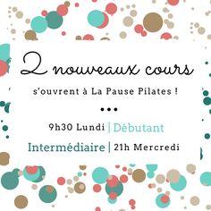 2 cours supplémentaires ont été créés à La Pause Pilates ! #Pilates #Youpitroulala