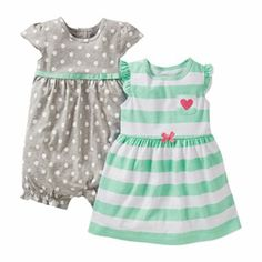 Carter's® 2pack Stripe Romper 2 - jcpenney (got it!)