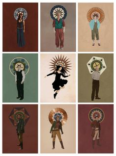 The Saints of Serenity by drcolour.deviantart.com on @deviantART