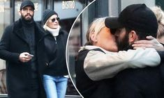 Robin Wright, 51, and Clement Giraudet put on a PDA in Paris