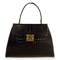 Lana of London by Lana Marks Black Croc Bag http://www.consignofthetimes.com/product_details.asp?galleryid=8038