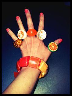 Orange fingers #ZSISKA