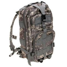 Camouflage Oxford Cloth Outdoor School Backpack #School #Outdoor
