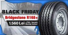 Prinde ultimele zile de reducere la anvelopele Bridgestone R168+!  Vezi oferta aici!  #blackfriday #fomcotruckservice #fomcotyres Service Auto, Black Friday, Monster Trucks
