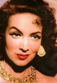 Maria Felix was a Mexican actress, considered by many to be the most iconic leading lady of the Golden Age of Mexican cinema, known for her larger-than-life, tough film characters. La Diva de Mexico.
