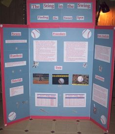 Science Projects about Baseball Bats