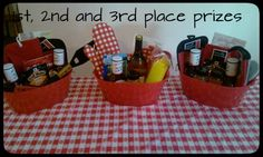 Cook Off Prizes
