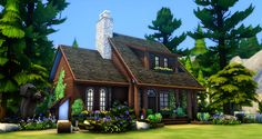 Pixelated Twix's Pixelated Ink - peacemaker-ic: Hermit's Cottage I was going for...