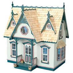 Greenleaf Orchid Dollhouse Kit - 1 Inch Scale - Collector Dollhouse Kits at Doll Houses Galore