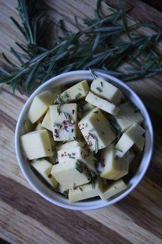baked fontina with rosemary garlic and chili flakes baked fontina ...