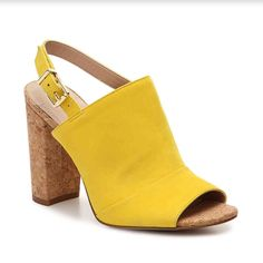e77f136b4 Shop Women s BCBGeneration Yellow size Sandals at a discounted price at  Poshmark.