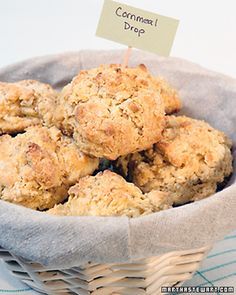Easy Cornmeal Drop Biscuits
