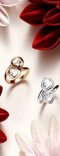 Chopard Happy Diamond rings | LBV ♥✤ | KeepSmiling | BeStayBeautiful