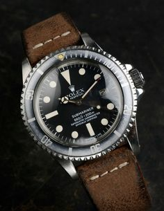 ThingsLooksGood - Vintage Rolex Submariner ref.1680 year 1978