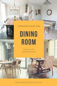 Our dining room color inspiration gallery includes our most prominent color pattern. From contemporary to traditional, obtain motivated by these fashionable dining room paint color. #diningroom#paint#color#ideas#design#wall#table