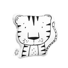 Thomas the Tiger Soft Toy Pillow by The Wild - Stuffed Toy, Plushie, Stuffed Animal, Baby Toy, Tiger Plush, Baby Stuffed Toy