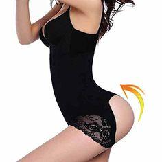 9bdb0f57d1 Introducing TAILONG Womens Shapewear Butt Lifter Cincher Boyshorts Panty  High Waist Briefs ML 23 Delivery Black