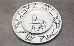 Geoff McFetridge for Heath Ceramics