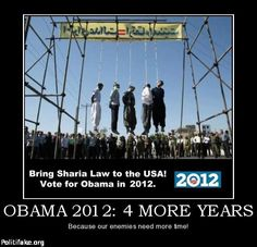 SHARIA LAW is not something that AMERICANS will EVER believe in.    ISLAM would take our culture BACK centuries!!!!!    SO - Why is OBAMA pals with the Muslim Brotherhood?  Why are members of the  Muslim Brotherhood IN THE WHITE HOUSE 'ADVISING' Obama?