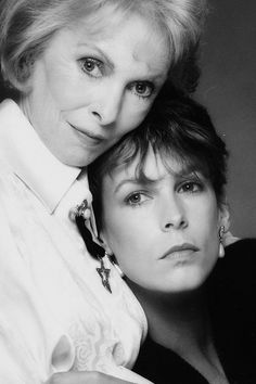 Mom & daughter: Janet Leigh and Jamie Lee Curtis    a mothers' love....