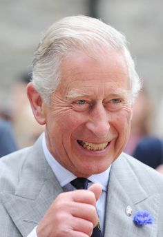 Prince Charles on a visit to Looe in Cornwall