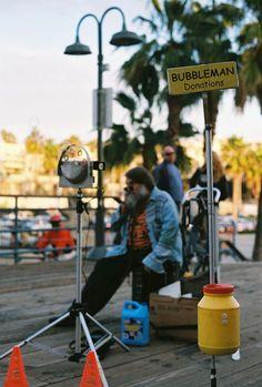 Bubbleman   Venice Beach, CA   2010  Hilarie LesVeaux