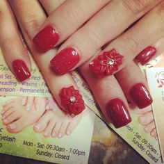 Valentine nails !