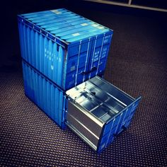 WANT.  TYO Shipping container wrapped filing cabinet.