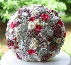 Brooch bouquet - size?