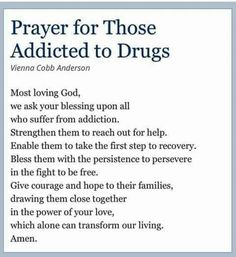 a story about an alcohol addict who got cured People struggling from addiction often find faith-based treatment helpful in recovery learn about christian resources, religious support groups, & more.