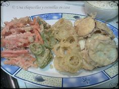 Tempura de verduras y langostinos / Tempura
